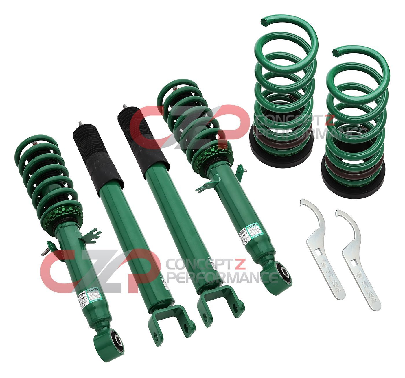 Tein Street Basis Z Coilovers - Nissan 370Z / Infiniti G35, G37, Q40, Q60 RWD - IN STOCK!!!