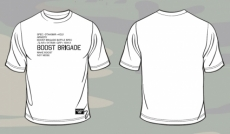 Boost Brigade KG21 Battle Spec Tee - White