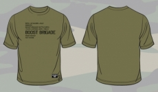 Boost Brigade KG21 Battle Spec Tee - Olive