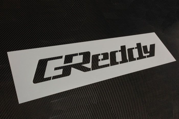 Greddy intercooler stencil
