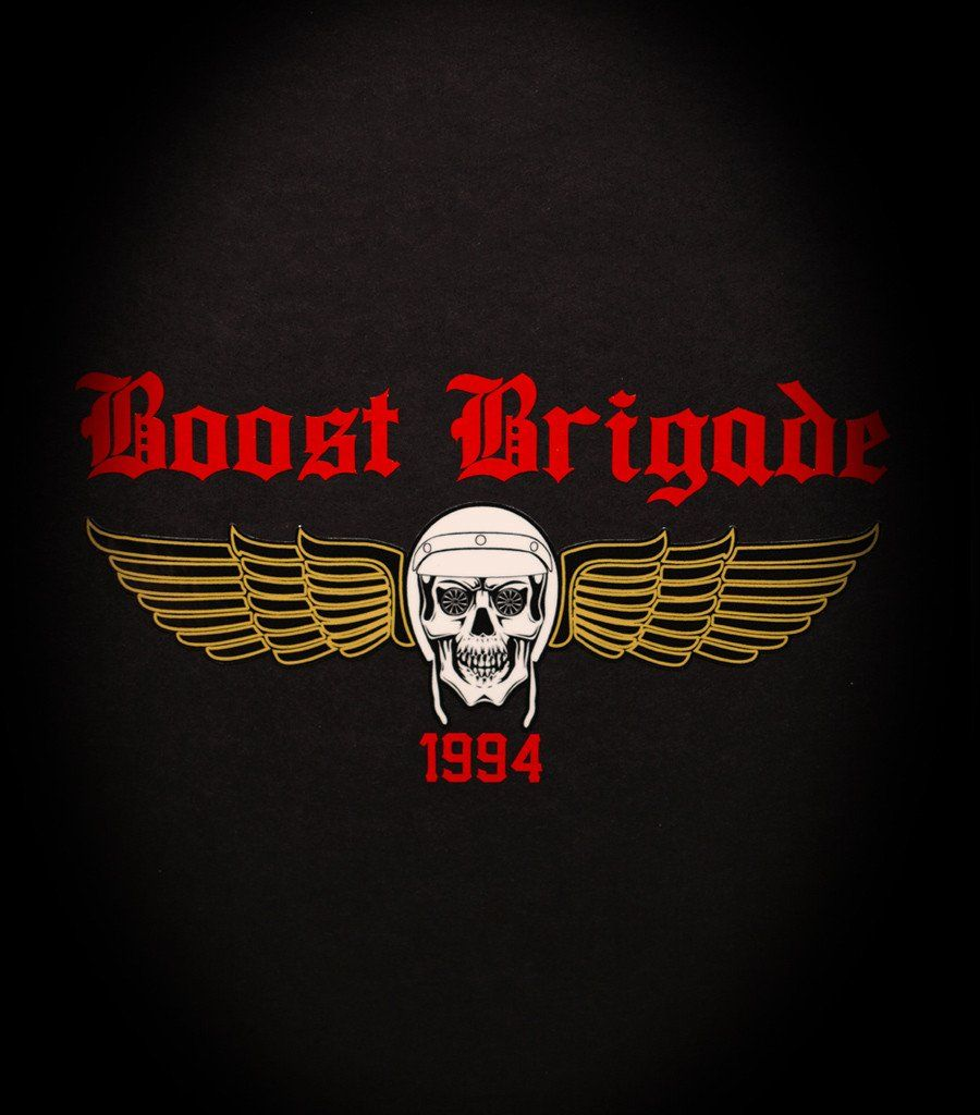 Boost Brigade Wing Sticker