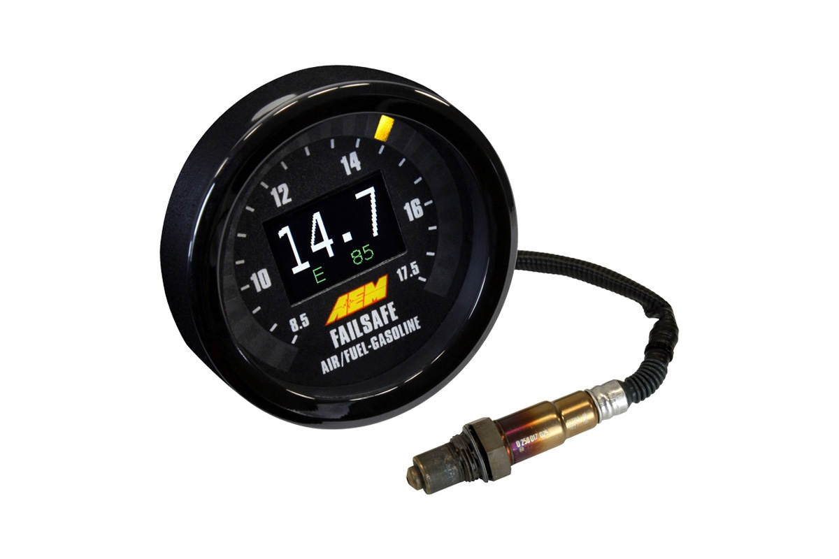 aem flex fuel failsafe gauge w o ethanol content sensor 30 4910 universal. Black Bedroom Furniture Sets. Home Design Ideas