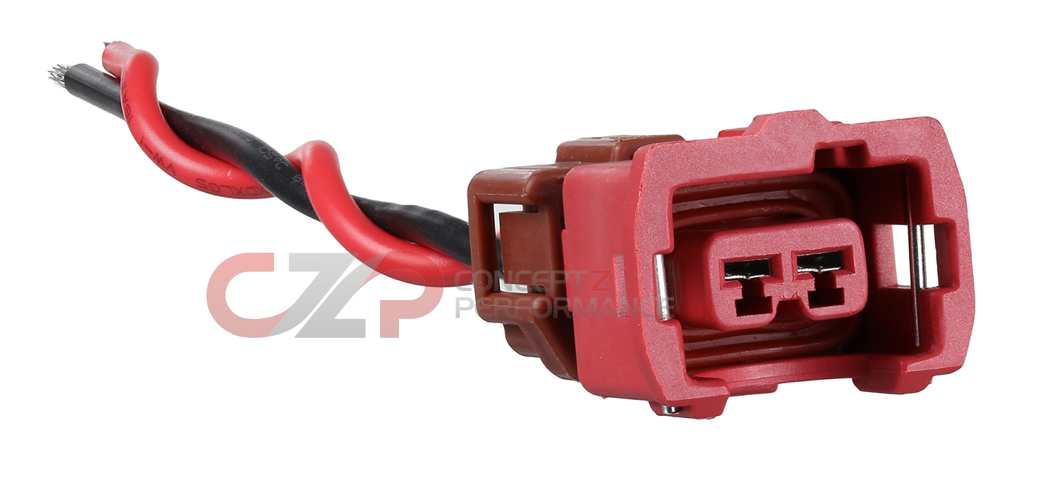 CZP Coolant Water Temperature Sensor (90-95) & Idle AAC IACV Plug Connector w/ Pigtails - Nissan 300ZX 90-96 Z32