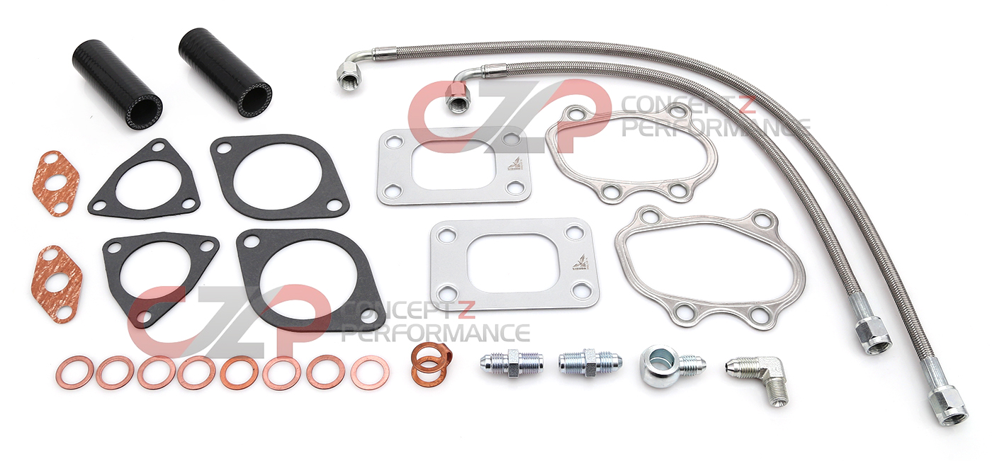 Forced Induction Turbochargers Turbo Kits Concept Z Performance Nissan 300zx Z31 Wiring Harness Czp 15192 Czkt Gasket Essentials Kit For Thrust Bearing Turbos