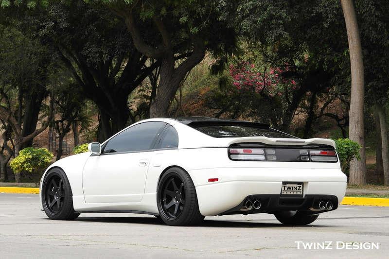 TwinZ Design Rear Wing Spoiler, Type 3 - Nissan 300ZX 90-96 Z32 TZD
