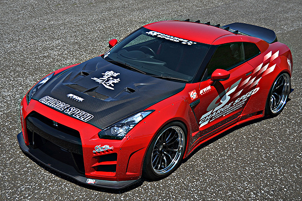 ChargeSpeed Carbon Fiber Wide Body Kit - Nissan GT-R R35