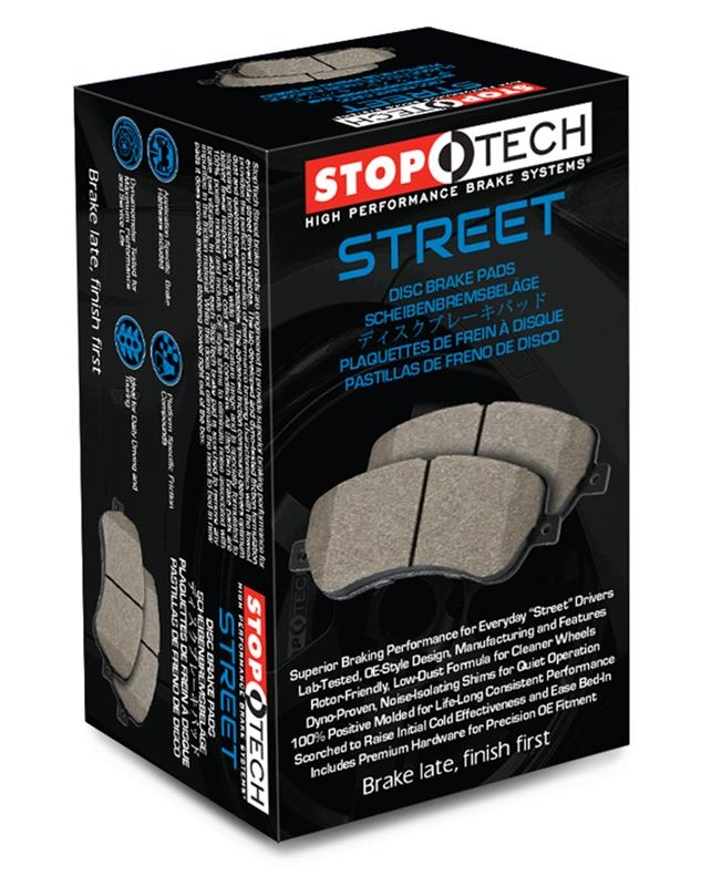 Centric / Stoptech Stoptech Street Brake Pads, Rear - Scion FR-S / Subaru  BRZ 13+ 308 11240 - Concept Z Performance