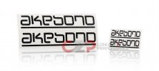 Akebono High Temperature Brake Caliper Sticker / Decal Set