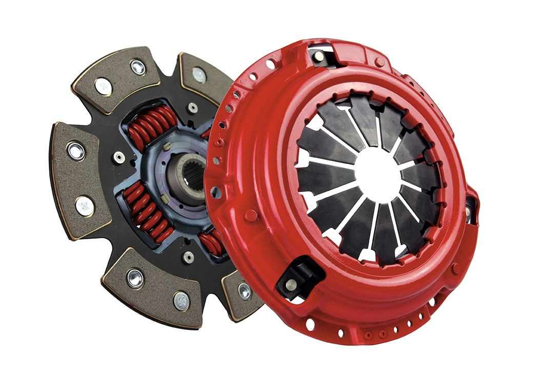 McLeod Racing Stage 2 Supremacy Street Power 6-Puck Carbotic Clutch Kit - Nissan 350Z 03-06 Z33