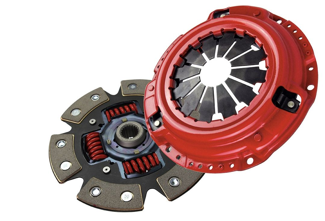 McLeod Racing Stage 4 Supremacy Street Supreme 6-Puck Ceramic Clutch Kit - Nissan 240SX 89-94 S13, 95-98 S14