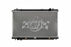 CSF Radiator Plastic Tank Aluminum Core, Auto AT or Manual MT - Nissan 350Z 07-08 Z33