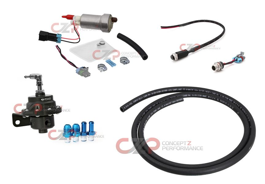 walbro 450 e85 fuel pump full conversion  u0026 installation kit