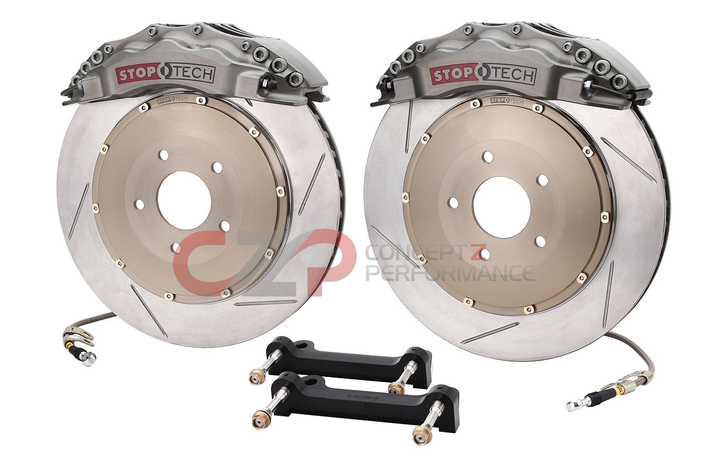"Stoptech Trophy Sport Big Brake Kit, 14"" 355mm, Front- Nissan 370Z / Infiniti G35 G37 Q40 Q60"