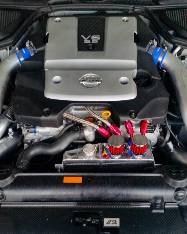 Admin Tuning Coolant Overflow  Oil Catch Can Infiniti G35 0708