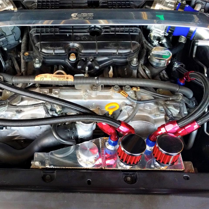G35 Engine Oil Cooler : Admin tuning coolant overflow oil catch can infiniti
