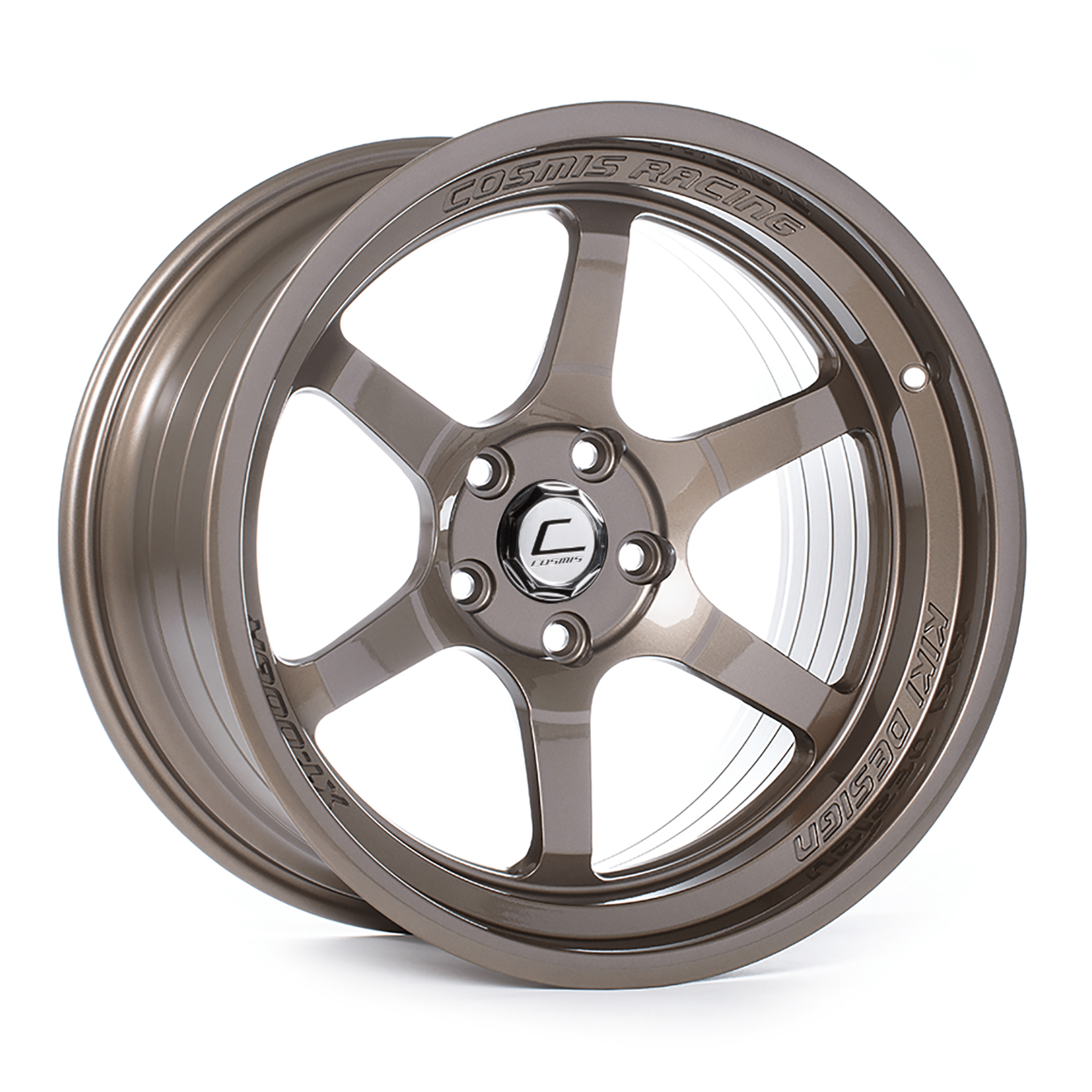 Cosmis Racing XT-006R 18x11 +8mm 5x114.3 Bronze