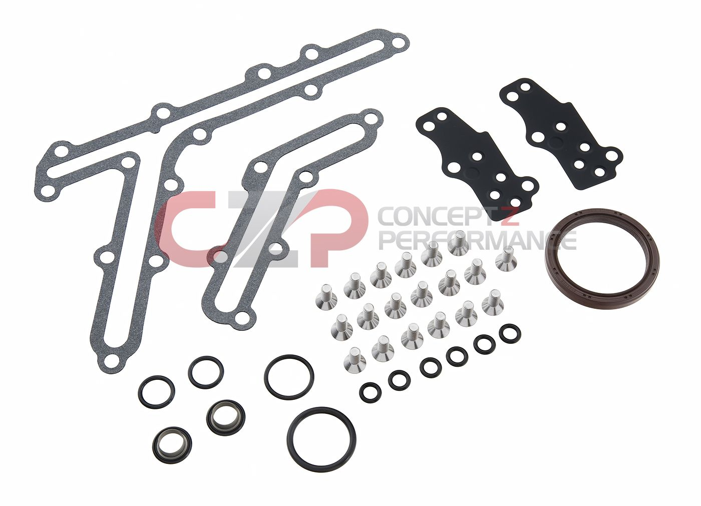 Nissan / Infiniti Infiniti OEM / CZP Timing Cover Gasket/O-Ring Kit, VQ35DE  Non Rev-Up Engine ONLY - Nissan 350Z / Infiniti G35 NONREVTMNGCVR-KT -