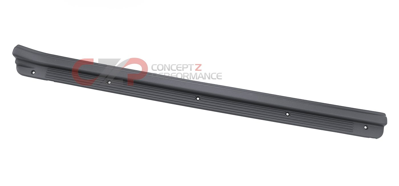 Nissan OEM Door Sill Kick Panel, Black, RH - Nissan 300ZX 93-96 Convertible Z32