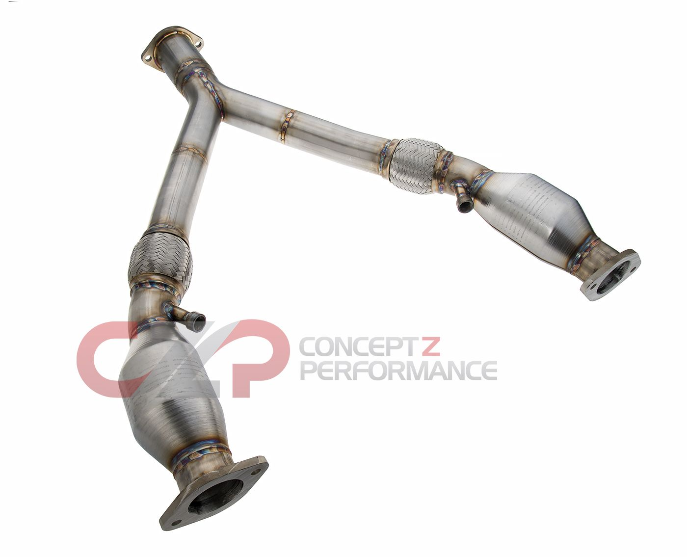 PPE Y-Pipe w/ High Flow Cat HFC Option - Nissan 350Z / Infiniti G35 RWD