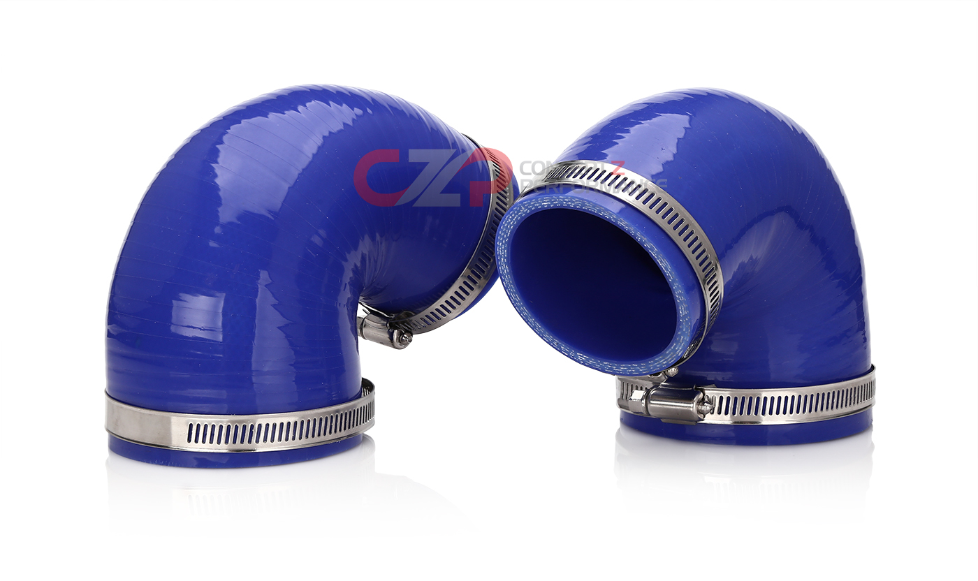 CZP Dual Intake Silicone Elbow Kit for Twin POP Intake - Nissan 300ZX Z32  16576-VP100 Selin 16576-VP100-BK-KT 16576-VP100-BL-KT 16576-VP100-RD-KT -