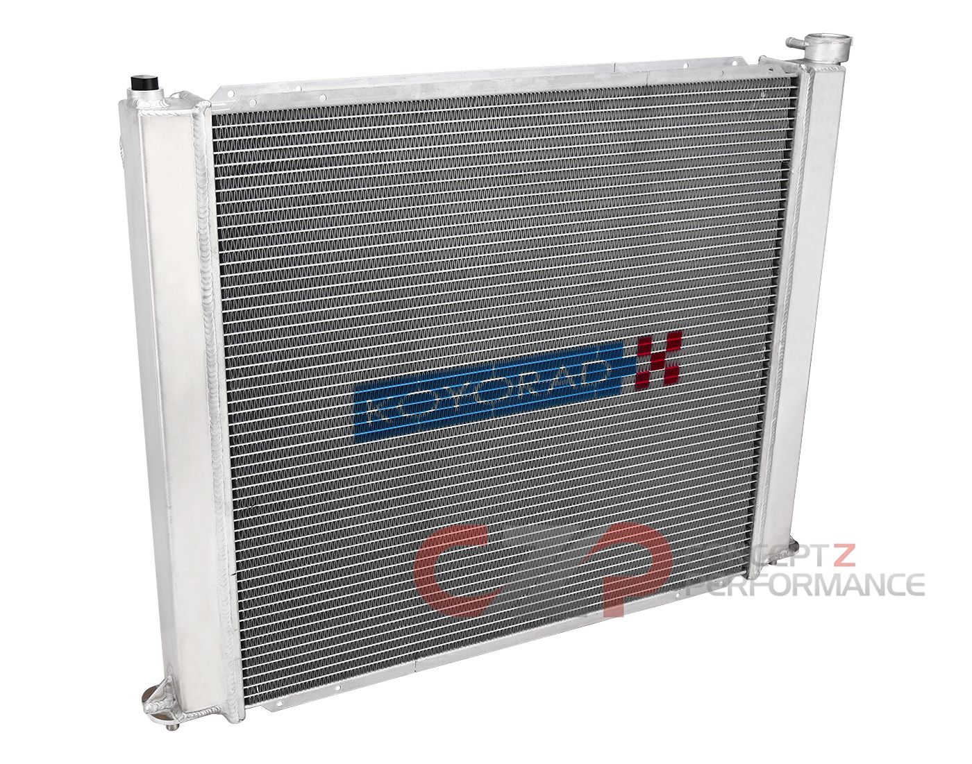Koyo HH020243 Performance Aluminum Racing Radiator, 48mm - Nissan 300ZX Twin Turbo TT Z32