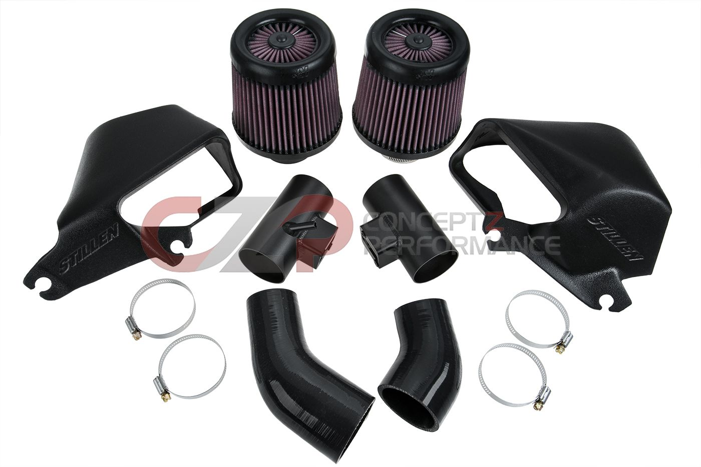 Stillen Air Intake System, Oiled Filter Intake - Infiniti Q50 Q60 3.0t Preminum / Red Sport RS400