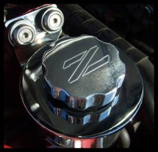 ZSPEC Design Ztek Billet Aluminum Power Steering Cap Cover - Nissan 300ZX 90-96 Z32