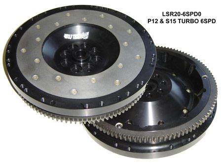 Jim Wolf Technology Aluminum Flywheel for SR20 w/ 350Z Transmission Swap Only - Nissan Silvia S15