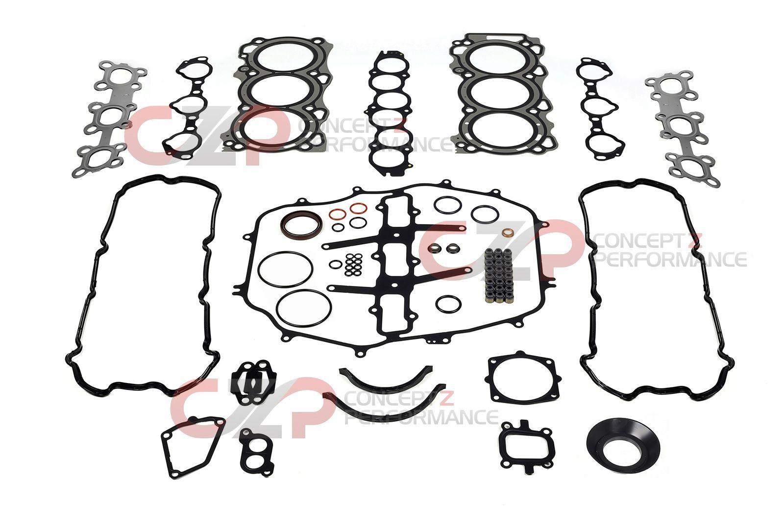 Ishino Stone OEM Engine Rebuild Gasket Kit, VQ35DE - Nissan 350Z / Infiniti  G35 JFS-00641 A0101-CD325 A0AMA-AC385 A0AMA-CD325 - Concept Z Performance