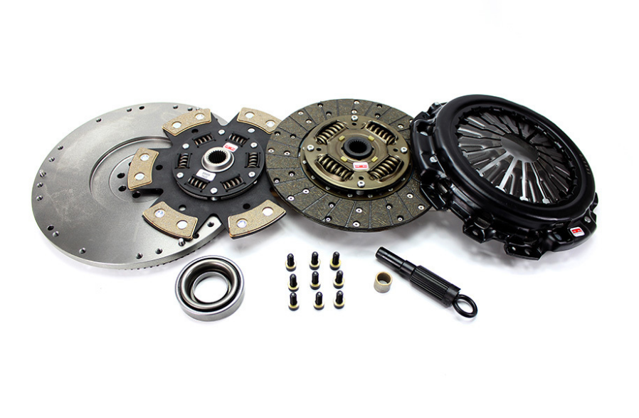 "Competition Clutch, 6 Puck Clutch and Flywheel Combo ""White Bunny"" VQ35DE  - Nissan 350Z / Infiniti G35"