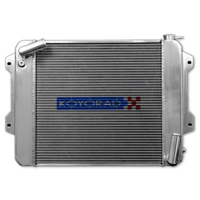 Koyorad 53mm R-Core Aluminum Racing Radiator, Manual Transmission MT - Datsun 240Z, 260Z, 280Z