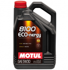 Motul 8100 5W30 ECO-NERGY Synthetic Engine Oil - 5 Liter