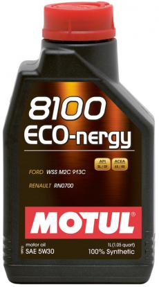 Motul 8100 5W30 ECO-NERGY Synthetic Engine Oil - 1 Liter