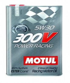 Motul 300V POWER RACING 5W30 Synthetic Ester Racing Oil - 2 Liters
