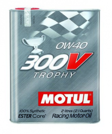Motul 300V TROPHY 0W40 Synthetic Ester Racing Oil - 2 Liters