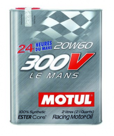 Motul 300V LE MANS 20W60 Synthetic Ester Racing Oil - 2 Liters