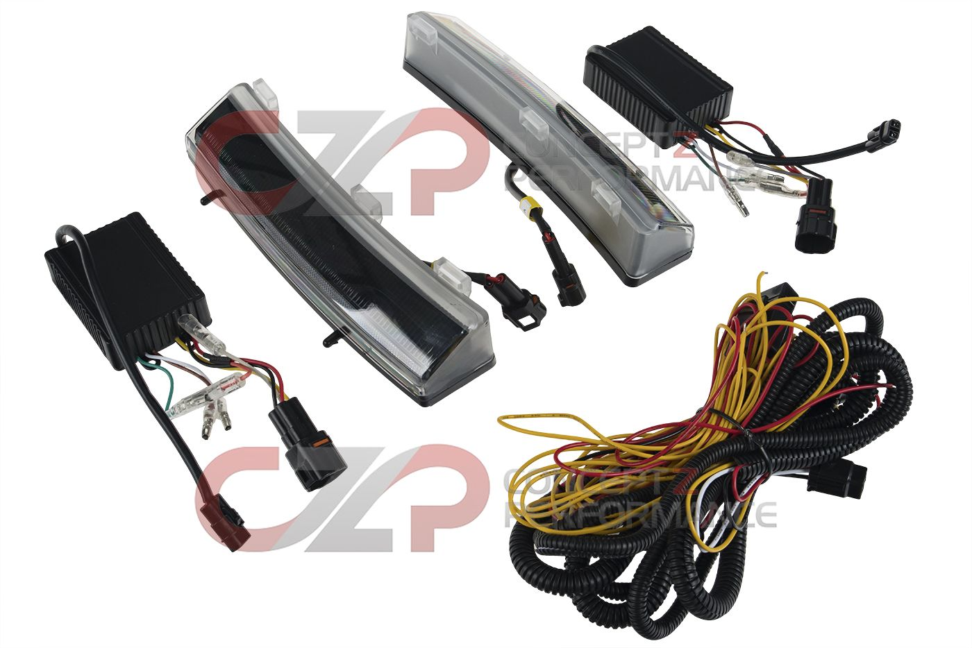 Torqen LED DRL + Side Indicator - Nissan 350Z 06-08 Z33