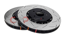 DBA 5000 T3 Series 2 Piece Slotted Rotor Set, Front 324x30mm, Spec-V w/ Brembo Calipers - Nissan Skyline GT-R 8/93-94 R32, 95-7/98 R33, 99-02 R34