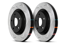 DBA 4000 T3 Series Slotted Rotor Set, Rear 300x22mm, w/ Brembo Calipers - Nissan Skyline GT-R 8/93-94 Spec-V R32, 95-7/98 R33, 99-02 R34