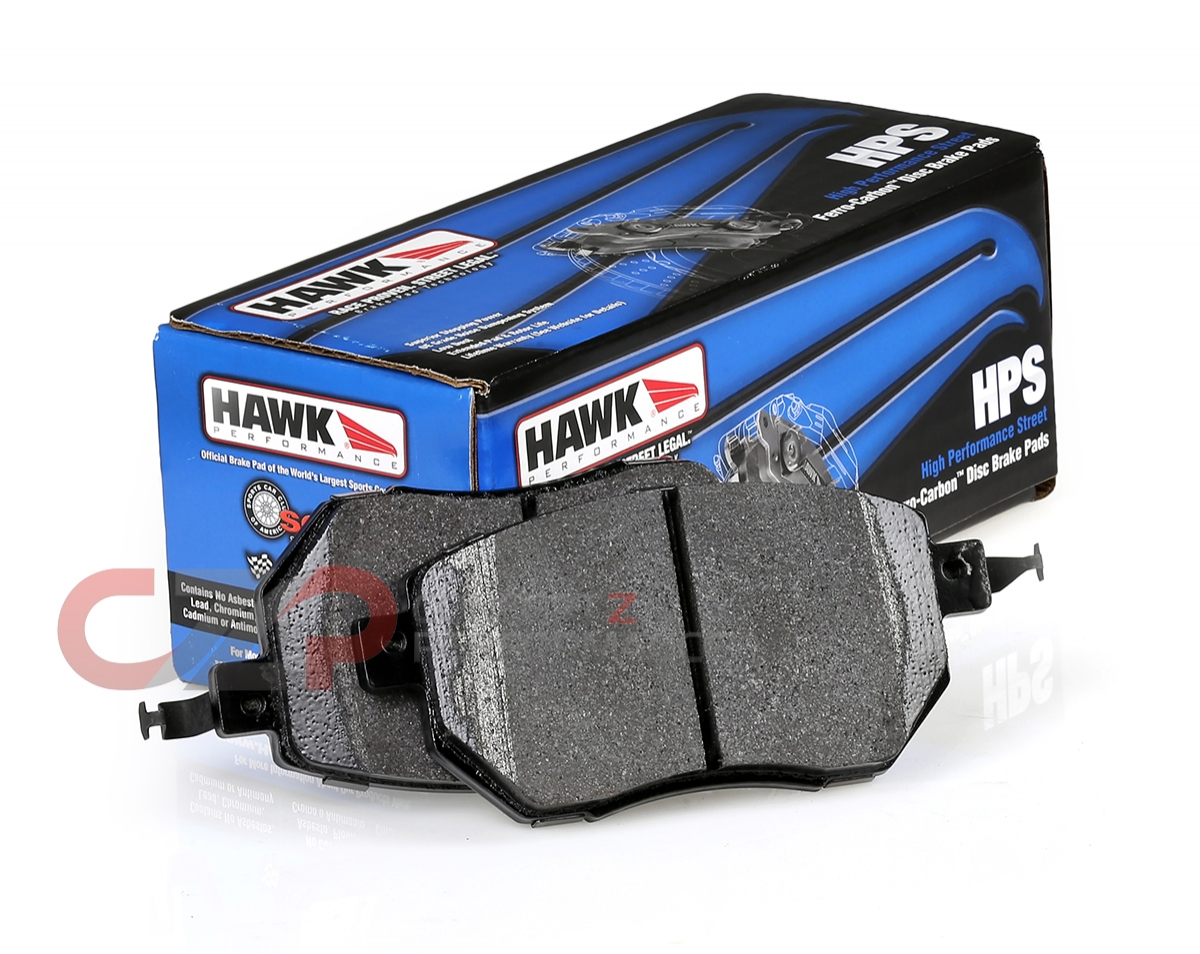 Hawk Street HPS Brake Pads for 06-09 Nissan Z33 350Z Front /& Rear Set