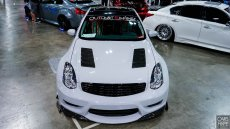 Outcast Garage Designs Vented Hood - Infiniti G35 03-07 Coupe V35