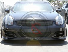 Outcast Garage Designs Poly Front Bumper - Infiniti G35 03-07 Coupe V35