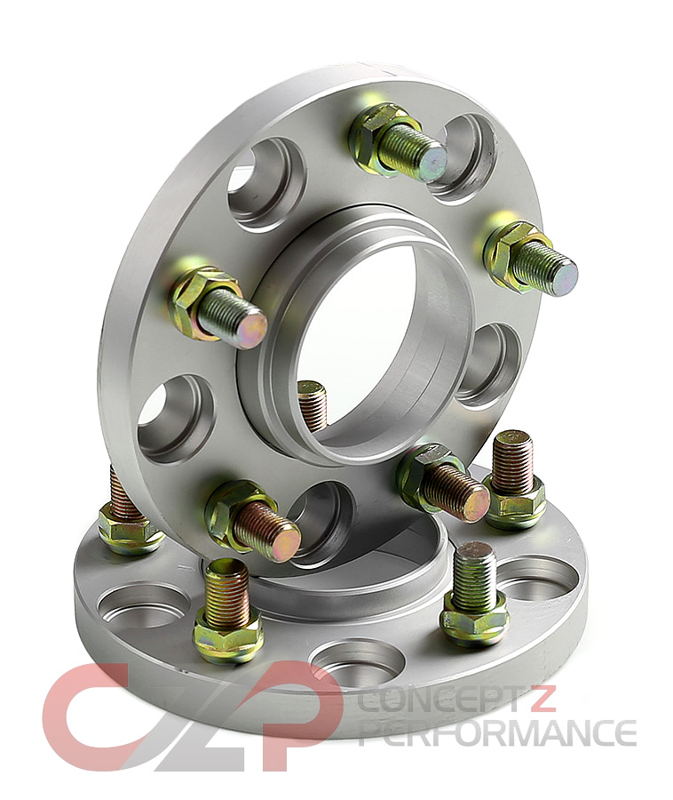 Ichiba Type 2 Bolt-On M12x1.25 Wheel Spacers 5x114.3, 15-38mm