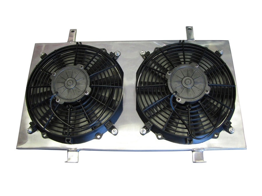 ISR Performance Radiator Fan Shroud Kit - Nissan 240SX 89-94 SR20DET S13