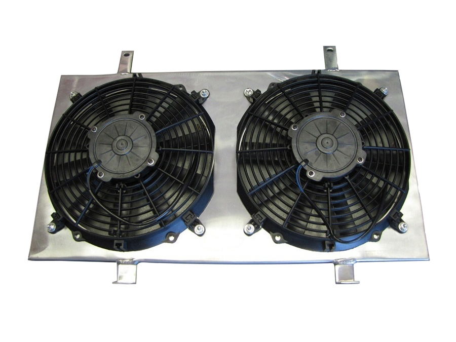 ISR Performance Radiator Fan Shroud Kit - Nissan 240SX 95-98 SR20DET S14