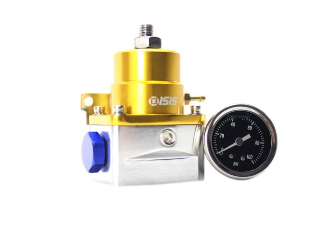 ISR Performance Fuel Pressure Regulator, Aeromotive Style, Gold