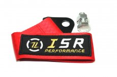 ISR Performance Universal Racing Tow Strap, Red
