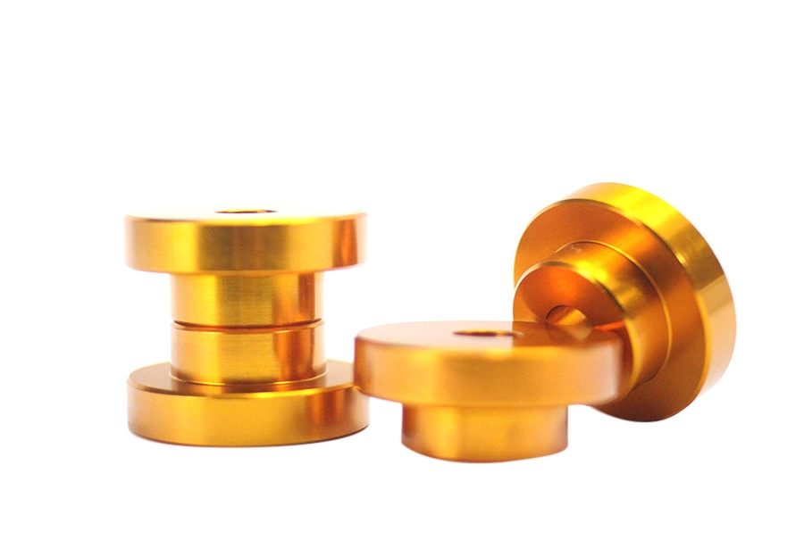 ISR Performance Solid Differential Mount Bushings, Gold - Nissan 240SX S14 95-98 / S15 99-02