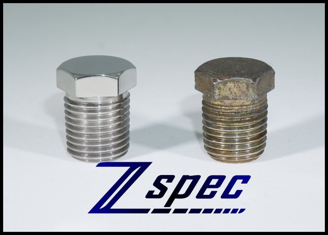 ZSpec Design Polished Stainless Plenum Bolt - Nissan 300ZX 90-96 Z32