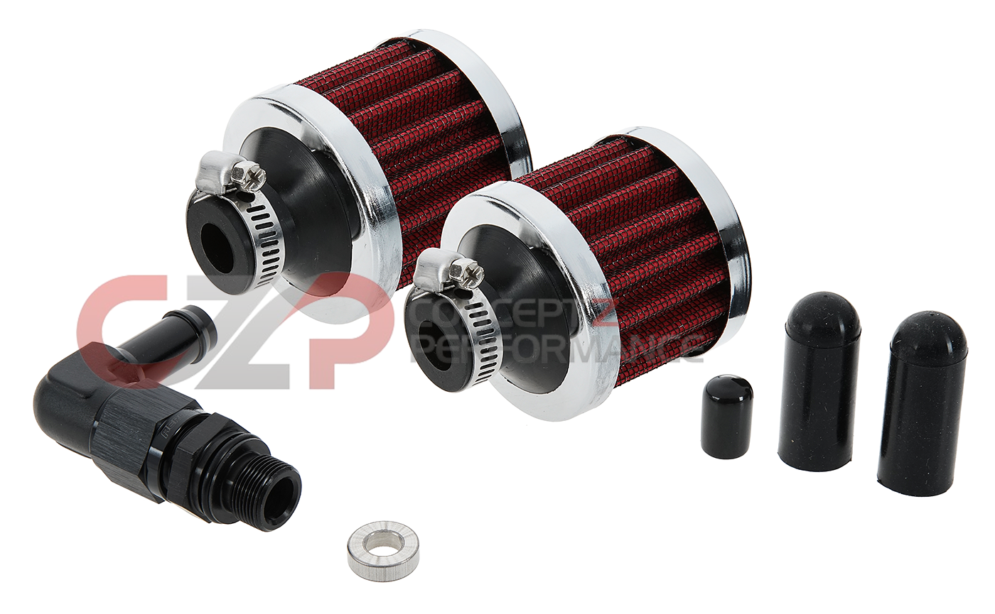 EPS Tuning Open Breather Conversion Kit, VQ35HR - Nissan 350Z / Infiniti G35